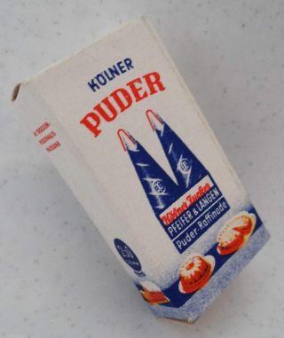 KÖlner Zucker Mini Nostalgie Verpackung Puppenstube Kaufmannsladen Miniatur Bild