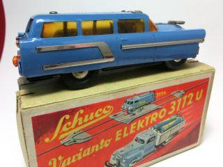 Schuco Elektro 3112 U,  Station - Car 3118 Mit Orig.  - Box Bild