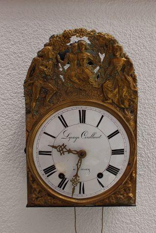 Grosse Pendel Uhr - Sehr Dekorativ - GesamthÖhe 40,  102 - 140 Cm Bild