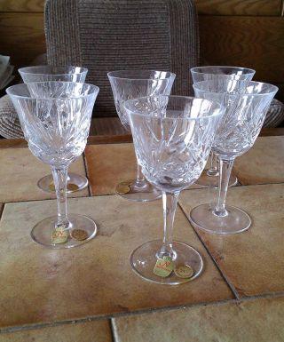 6 Wein - Gläser Nachtmann Bleikristall - - Bild
