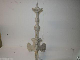 Alter Holzgeschnitzter Leuchter Um 1800,  50 Cm M.  Dorn Bild