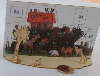 Ak02 Bastelset 0 - Serie 1.  Adventskalender Arche Noah 70 Tieren Ca 9,  9 Cm Lang Bild