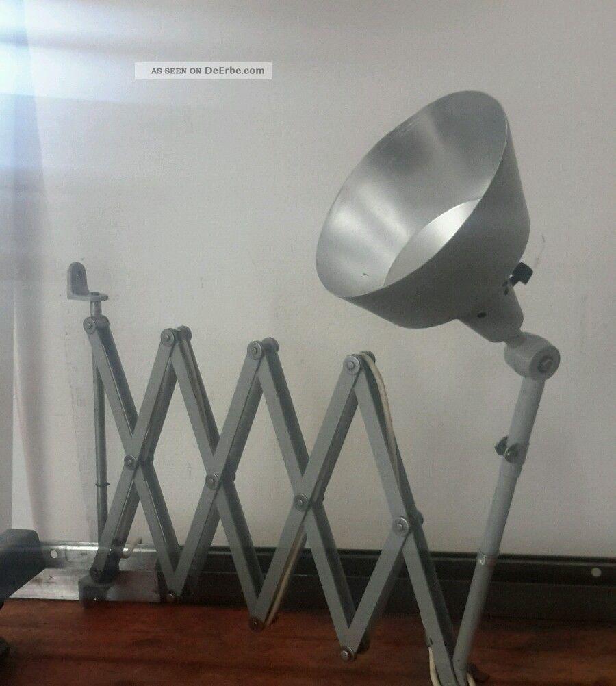 xxl scherenlampe midgard bauhaus loft wandlampe werkstattlampe. Black Bedroom Furniture Sets. Home Design Ideas