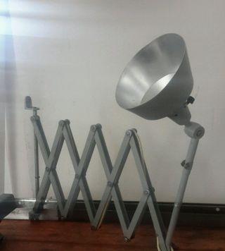 Xxl Scherenlampe Midgard Bauhaus Loft Wandlampe Werkstattlampe Bild