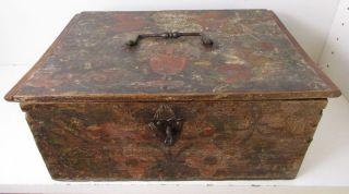 Kleiner Deckelkasten/schatulle Um 1700 - Süddeutsch (209 - 06) Bild