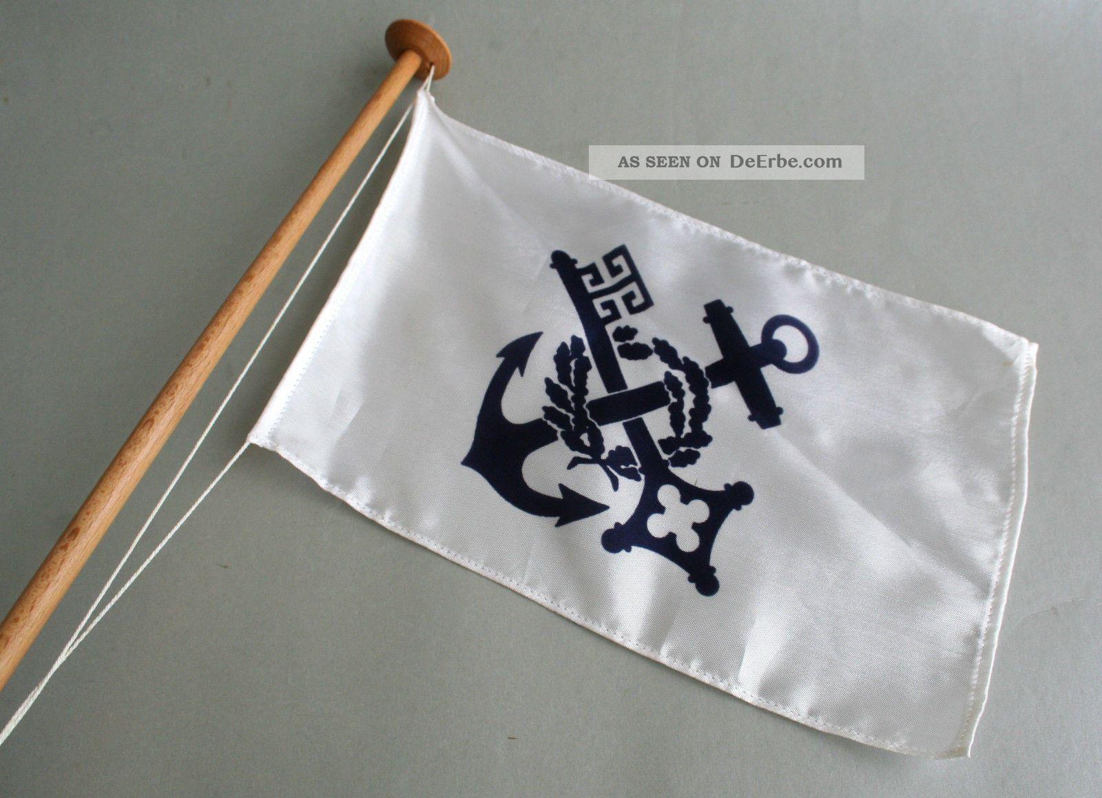 reedereiflagge tischflagge norddeutscher lloyd bremen. Black Bedroom Furniture Sets. Home Design Ideas