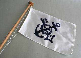Reedereiflagge Tischflagge Norddeutscher Lloyd Bremen,  Reederei H:43cm Hapag Bild