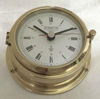 Alte Wempe Chronometerwerke Schiffsuhr Wanduhr Bild