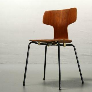 Arne Jacobsen Für Fritz Hansen,  Stuhl 3103,  1966 Teak Chair Mid Century Vintage Bild