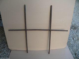 1850 1 Schmiedeeisen Fensterkreuz Fenstergitter Fensterstab Eisengitter Fenster Bild
