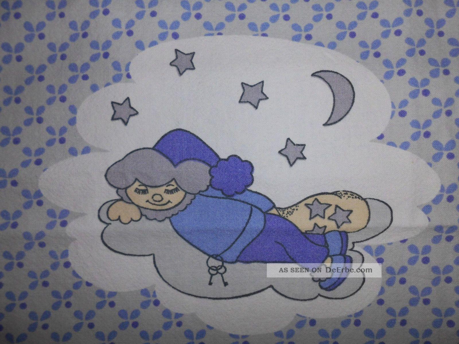 Sandmännchen Baby Kinder Bettwäsche Vintage 70er 80er Graziela - Ära Sandmann Süß 1970-1979 Bild