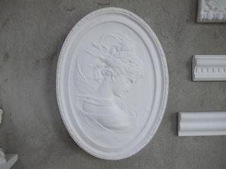 Gips Relief Josephine Frau Von Napoleon SchÖn Deko Bild