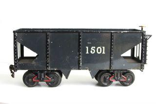 Bing - Schotterwagen Spur I - Um 1915 - Riesig 32 Cm - Sehr Schön.  Selten. Bild