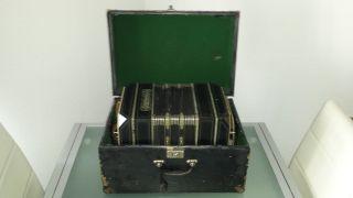 Bandoneon Bandonion Chromatiphon Koffer Hugo Stark Rebesgrün 20er 30er Bild