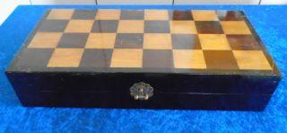Älteres Schachspiel China - Figuren Handgeschnitzt Edelholz/bein - Dekorativ Bild