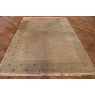 Schöner Handgeknüpfter Orient Teppich Nepal Gabbeh Carpet Tapis Tapijt 170x240cm Bild