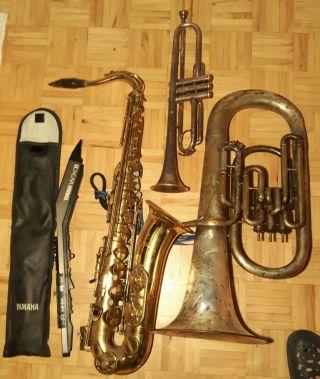 Konvolut / Convolute Bach,  Dehmal,  Yamaha,  Buffet Crampon Bild