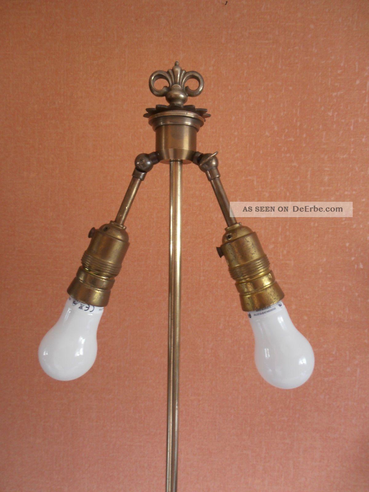 stehlampe messing antik. Black Bedroom Furniture Sets. Home Design Ideas