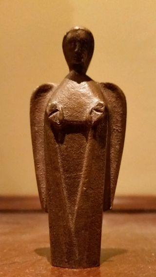 Figürliche Bronzefigur Des Art Deco Matarè Umkreis Bild