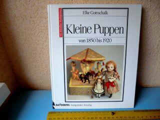 Kleine Puppen 1850 - 1920 Für Puppenstuben Battenberg Katalog Von Elke Gottschalk Bild