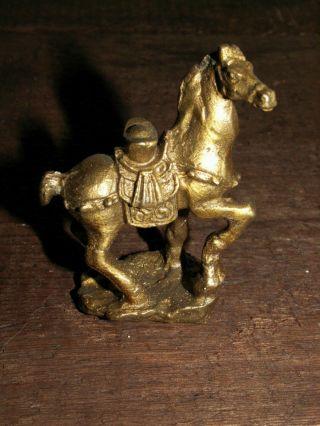 Glücksbringer Geld Symbol Auf Pferd Bronze Erfolg Job Reichtum Geld Horse Bild