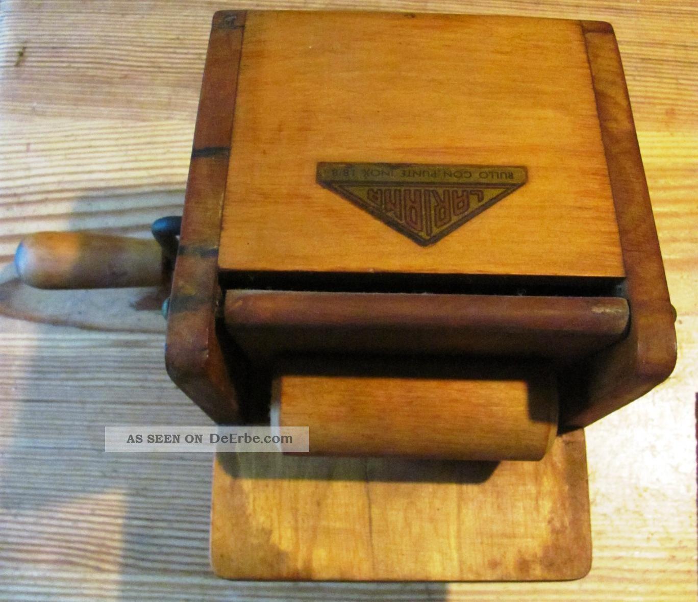 Alte Antike Kasereibe Lariana Holz Aus Italien