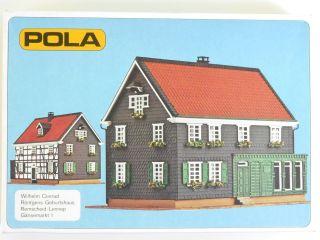 Pola 627 Wilhelm Conrad Röntgen Geburtshaus Gänsemarkt H0 Ovp 1601 - 08 - 42 Bild