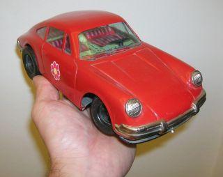 Altes Blechauto Fernlenk Porsche 911 - Daiya Japan - Der 70er Jahre Bild