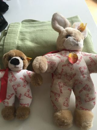 Steiff Sammlerstücke Hund Und Hase Bild