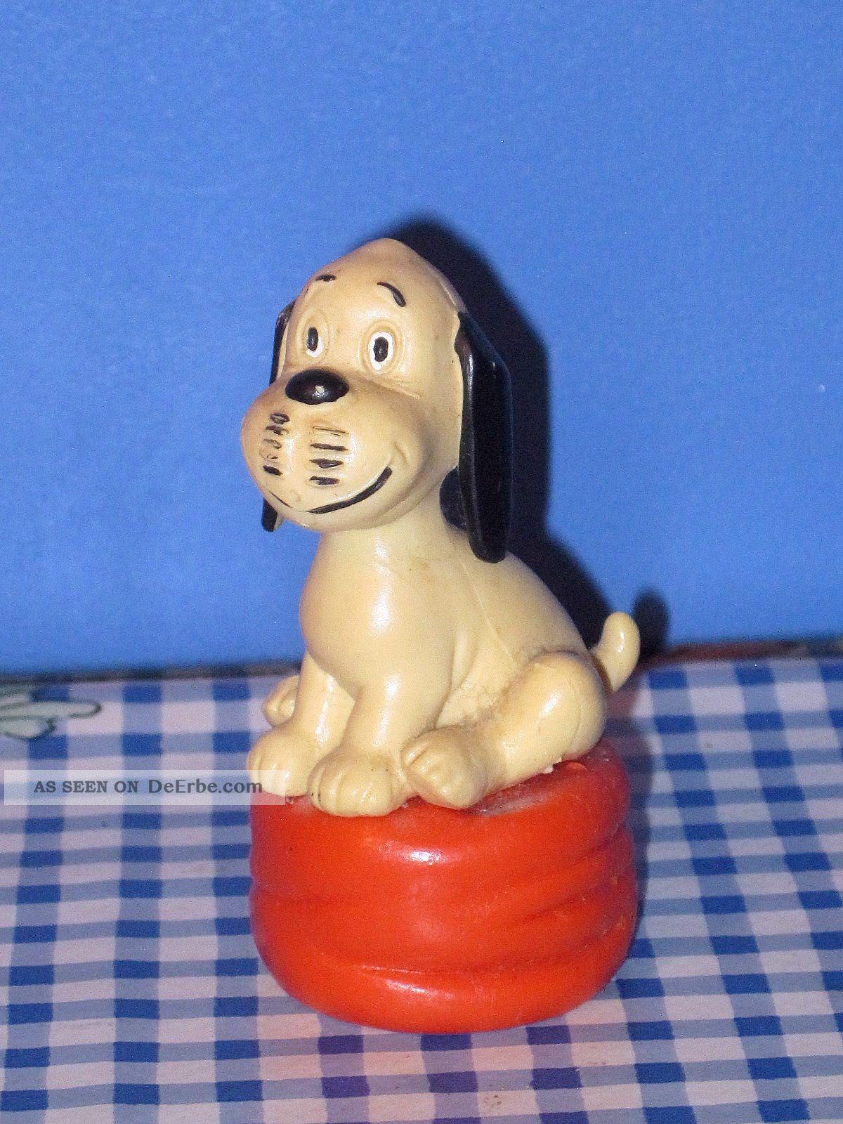 Alter Süßer Wum Von Loriot 7 Cm Figur Comic Deko Werbung Zdf Sammler Gefertigt nach 1945 Bild