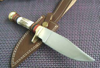 Jagdmesser Hirschhorn Jagdmesser Handarbeit 25 Cm Xl Asw Knives Asw - 156 Bild