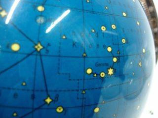 Himmelsglobus Columbus 60er Sternenglobus Beleuchtet Sockel Holz Atmosphäre Bild