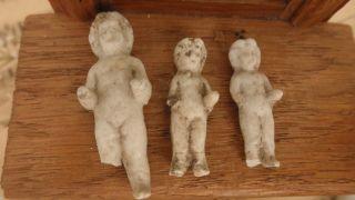 Antike Frozen Charlotte Porzellan Badepuppe Puppen Puppenstube Puppenhaus Bild