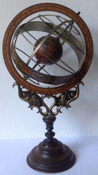 Armillarsphäre Globus Bild