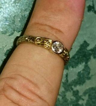Antik Brilliant Ring /  1938erjahre - 333/ooo ErbstÜck Bild