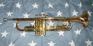 ältere Holton Trompete Mit Orirginal Koffer Bild