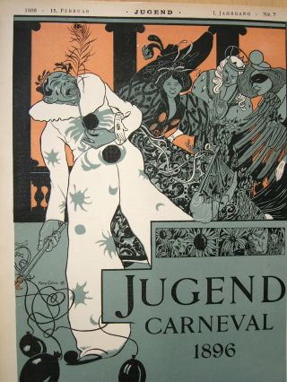 Jugend.  Sammlung Von Ca.  50 Heften Ab 1896.  Jugendstil Bild
