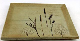 Sgrafo Wandteller,  Platte,  Teller,  Mit Markung,  Handarbeit,  Rarität Bild