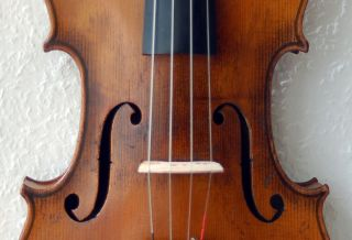 Alte 4/4 Geige - Violine - Um 1910,  Deutsch,  Traumhaft Schön,  Spielfertig Bild