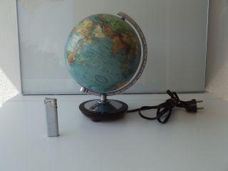Alter Kleiner Columbus Erdglobus Glasglobus / Globe Um 1940 - 50 / Höhe Ca.  26 Cm Bild