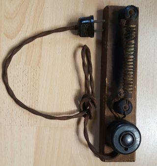 ZigarrenanzÜnder Elektrisch Um 1910 / 20 Selbstbau ? 220 Volt 500 Watt Bild