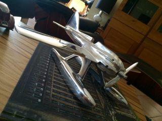 , Supermarine S4,  Schneider Trophy,  - Skulptur Aus Aluminium,  Art Deco Stil Bild