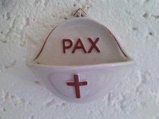 Alter Weihwasserkessel Weihwasserbecken Pax Nachlass Ans Bild