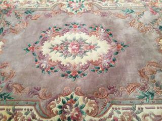 Sehr Schone Handknupfter Blumen Chineschteppich, .  169 X 255 Cm Bild