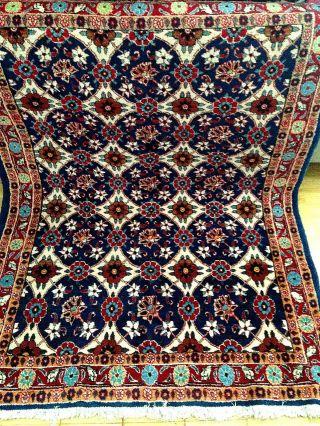 Handgeknüpft Orientteppich Teppich Fein 141x105 Cm Carpet Tappeto Tapis Top Bild
