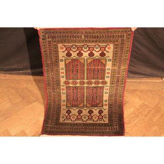 Antiker Handgeknüpfter Orient Kazak Kasak Teppich Carpet Tapis Tappeto 90x60cm Bild