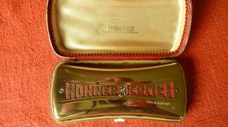 ältere Hohner - Comet Mundharmonika C/g - Dur Bild