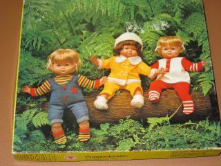 Puppenkinder - Drei Schöne Puzzle Mit Schildkröt - Puppen - Komplett Bild