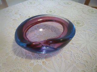Mehrfarbige Murano Glas Aschenbecher Bild