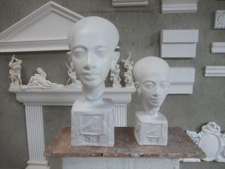 Tochter Der Nofretete Und Amenophis Iv VergrÖßerung 3d Drucker Gips Skulptur Bild
